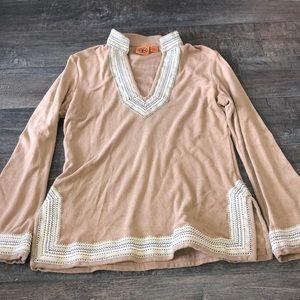 Tory Burch women's long sleeve sweater